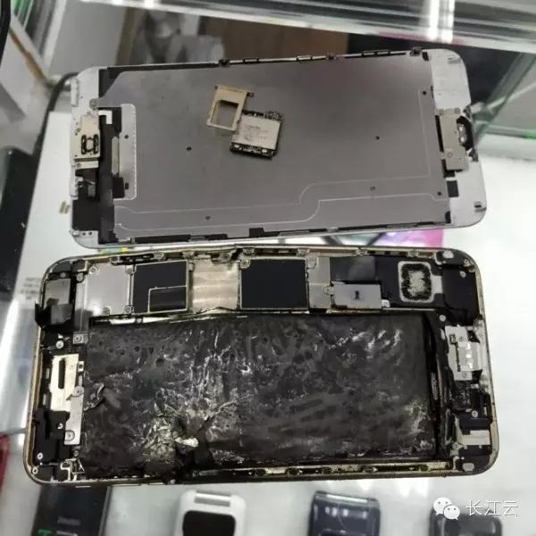 又来一例:武汉一苹果手机充电就这样爆炸了!_长江云