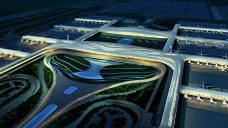 武汉天河机场T3航站楼开始封顶