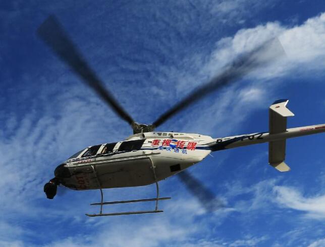 重庆一通用直升机坠毁致4人遇难