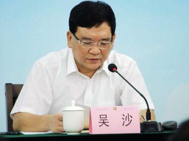 广州市政法委原书记吴沙被开除党籍
