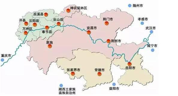 经济合作区城市分布(湖北日报资料图片)-这个 大动作 将深刻影响