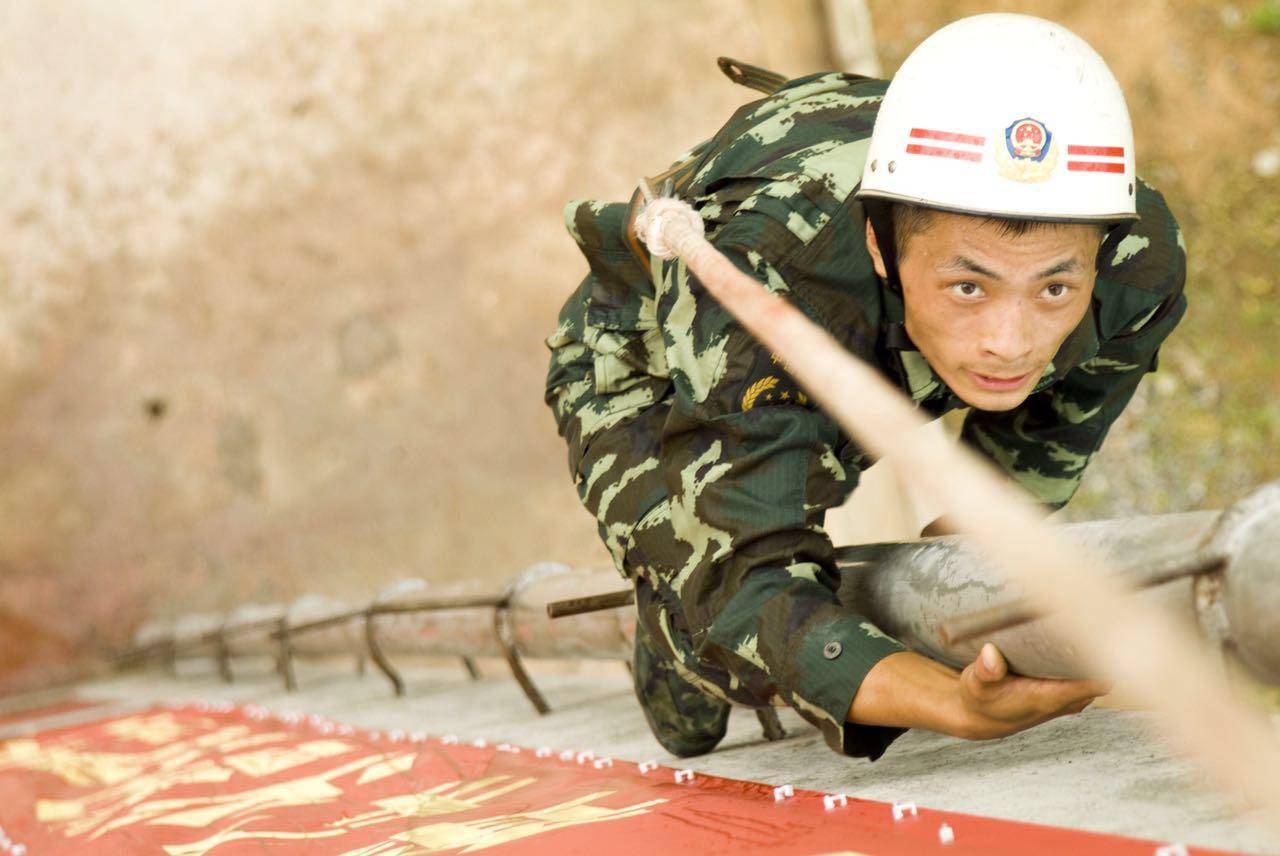 廖勇:我是一名消防兵 愿为人民献青春