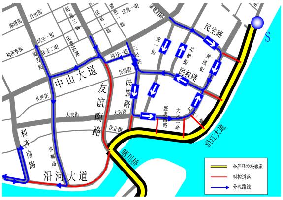 武汉晴川学院手绘地图