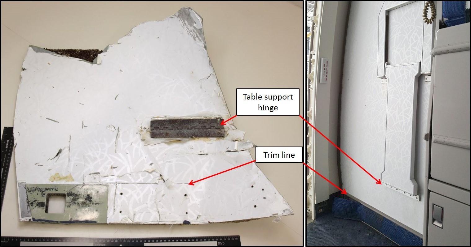 飞机残骸来自mh370
