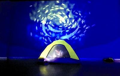 武汉极地海洋公园推出夜宿活动吸引亲子家庭