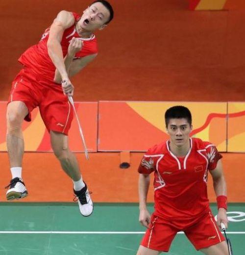 同时也是傅海峰继伦敦奥运会后再次夺得男双冠军.