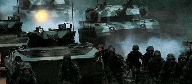 坦克--威武丨兵种齐全 遇敌即战的中国陆军合成营