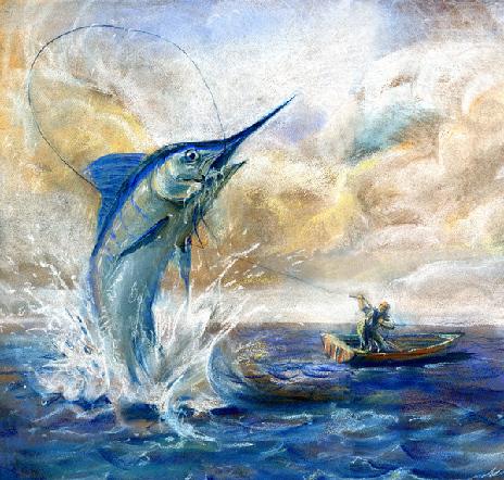《老人与海》:一本希望之书图片