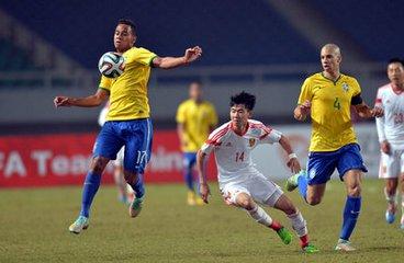 U22四国足球赛今天在汉开赛 中国队首战对越