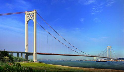 港珠澳大桥设计图展示