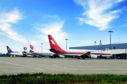 宜昌丨三峡机场年旅客吞吐量首破150万