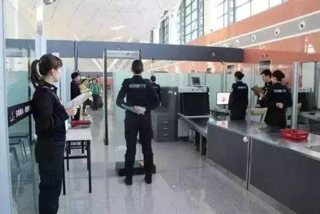 春运来临 武汉天河机场提示旅客如何快捷通过安检