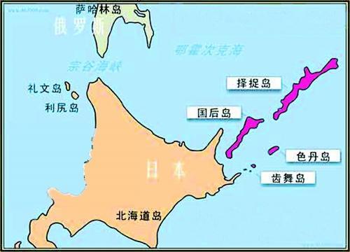 千岛群岛中的2座岛屿以国务活动家命名,一座岛屿为纪念外交部长兼苏联