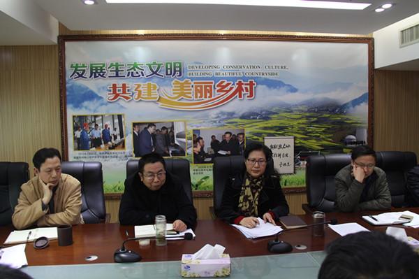 省农村能源办公室召开项目验收工作总结会