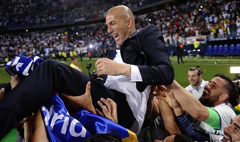 5年首冠 皇马历史第33次加冕西甲冠军