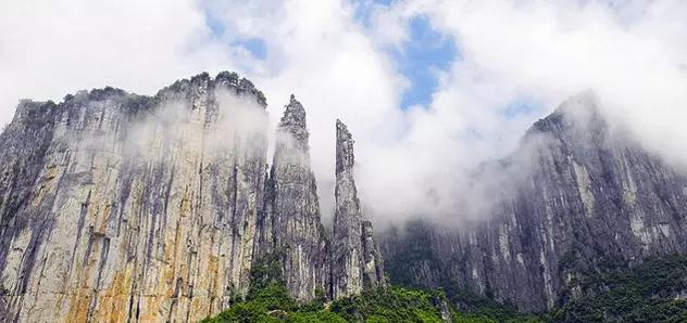 """太子山国家森林公园 黄冈人说: """"我想到了龟峰山,薄刀峰,天堂寨"""