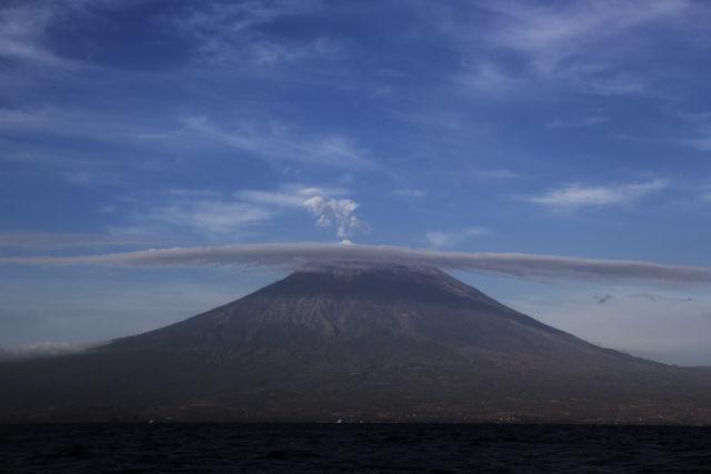 巴厘岛火山或将喷发 中国游客请注意
