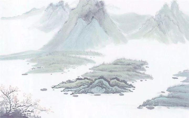 壁纸 风景 国画 720_450