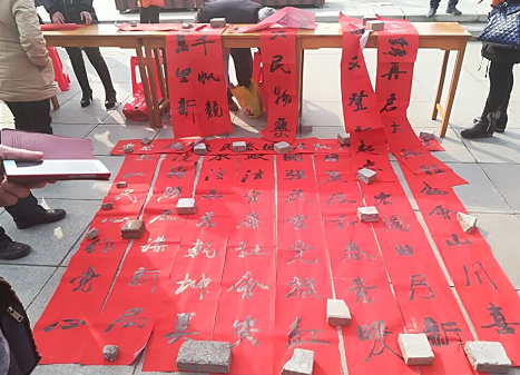 湖北随州:廉政文化与春节同行
