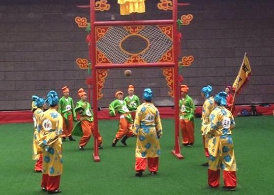 清明节的古老习俗——蹴鞠