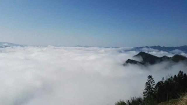 湖北鹤峰:山谷云海桃花源