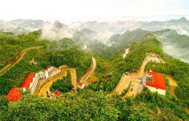 襄阳市保康县九路寨生态旅游区