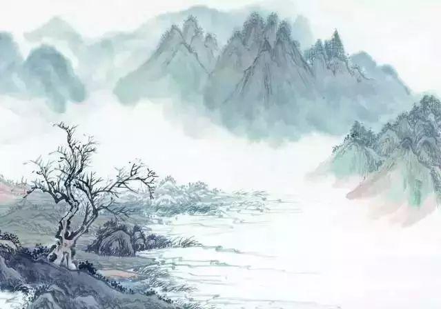 泼墨云素材手绘