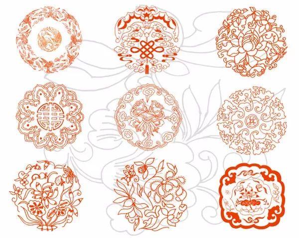 中国传统吉祥图案全集,寓意深远!图片