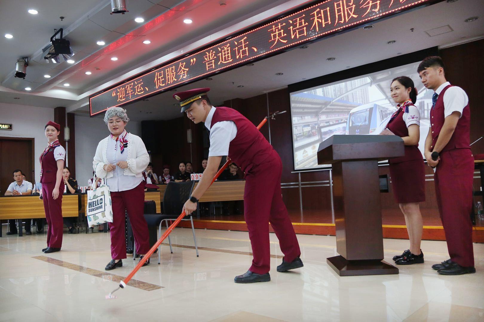 武汉地铁推出双语服务迎军运