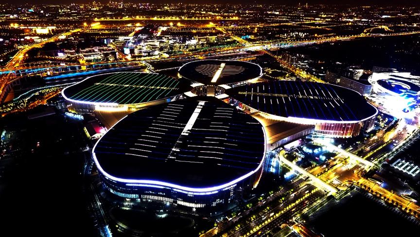 中国国际进口博览会举办场地——国家会展中心(上海)