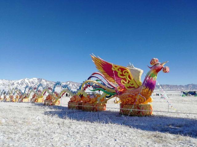 赛里木湖2019冰雪旅游季开幕
