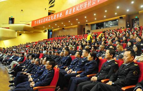 来凤县:张富清先进事迹报告会拉开宣教月活动序幕
