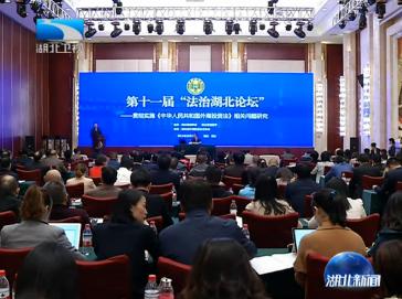 V视 | 第十一届法治湖北论坛在武汉举行