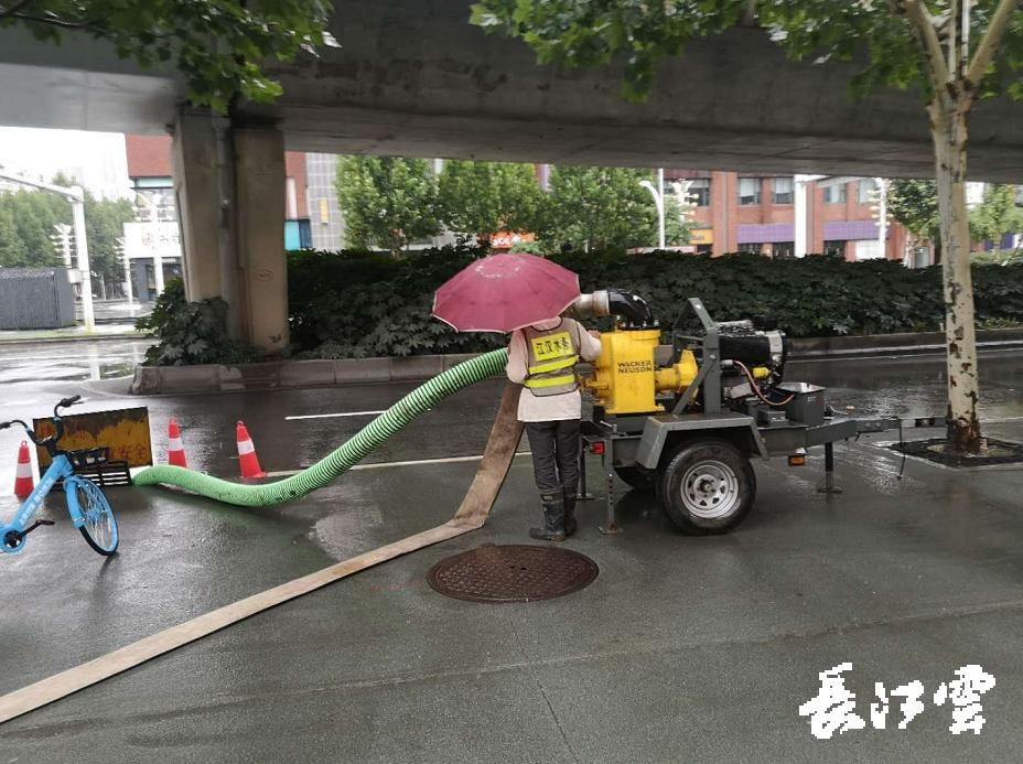 武汉市启动城市排渍Ⅲ级应急响应