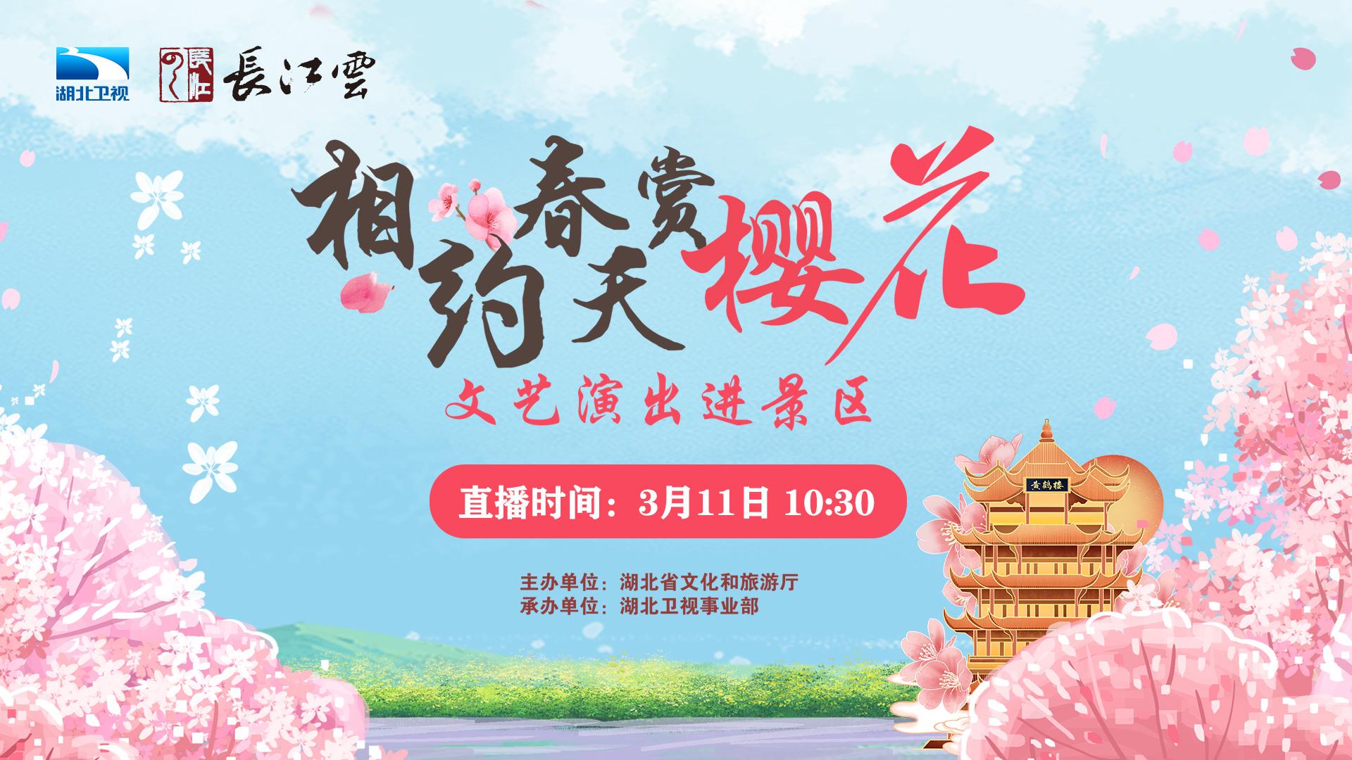 视频 | 东湖之滨,樱花树下,邀你共赏!