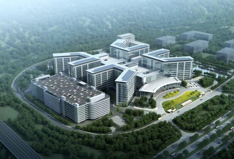 光谷同济儿童医院封顶,明年6月1日投用