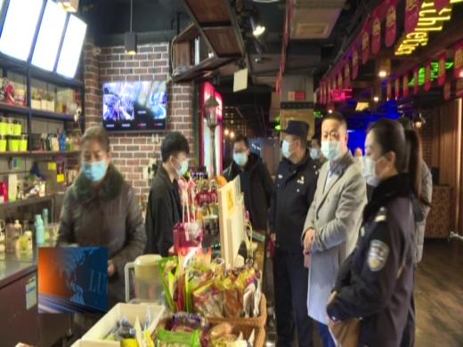 罗田县开展春节期间出书物市场和网络文明市场执法检查活动