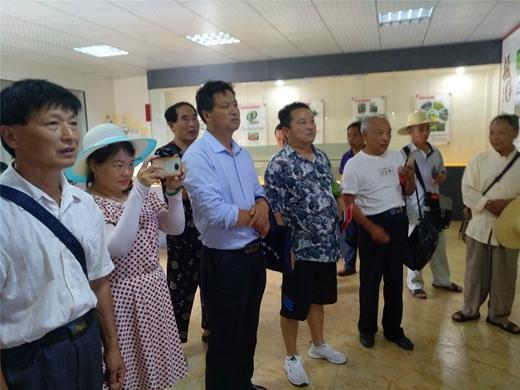 罗田县民间文艺家协会到大河岸镇开展釆风活动