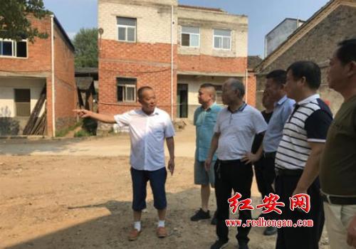 市供销社主任郭小野到红安调研