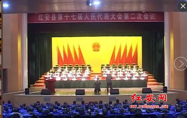 红安县第十七届人民代表大会第二次会议举行第二次全体会...