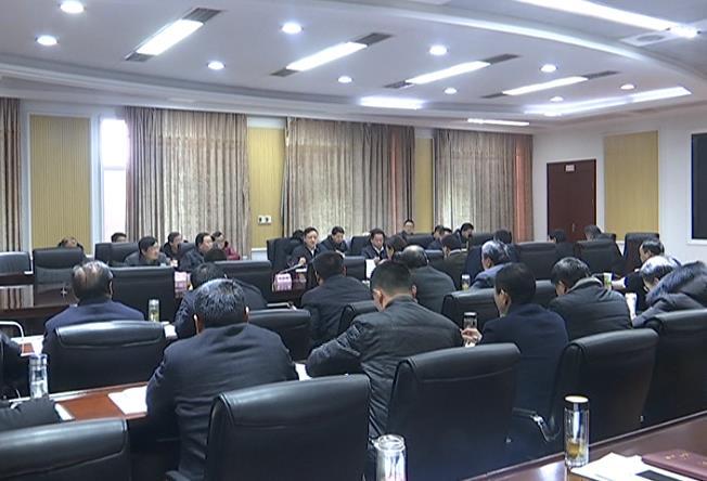 余学武主持召开第十四届县委常委会第88次(扩大)会议