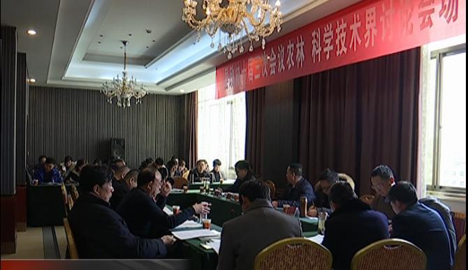王西华、曹健鹏、陶鸿参加红安县政协十届三次会议 农林...