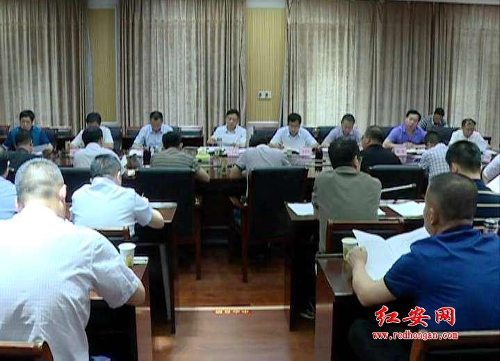 余学武主持召开全县扫黑除恶专项斗争领导小组第九次会议