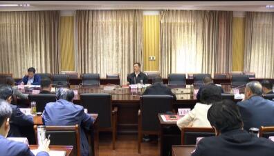 红安县委理论学习中心组举行第10次集中学习 余学武主持...