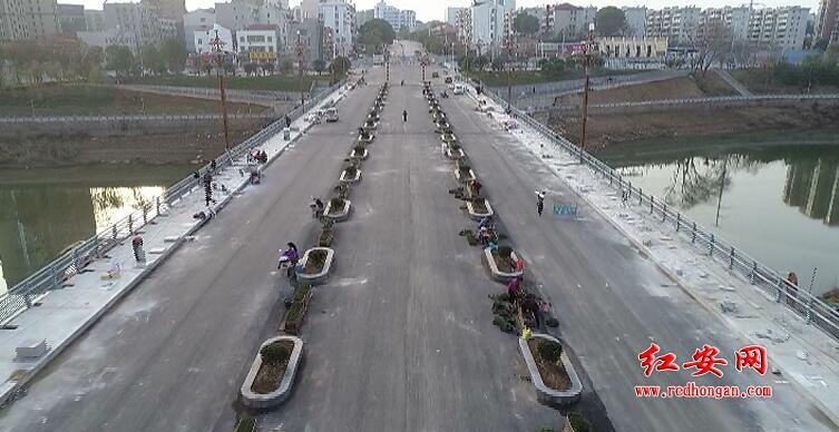 红安二桥预计12月26日通车