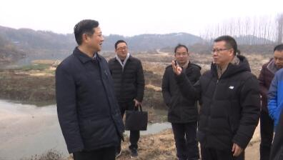 李瑞勤来红安县调研水环境综合治理工作
