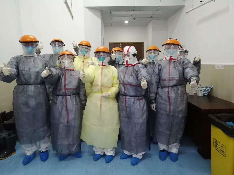 與時間賽跑 與病魔較量 湖南省馳援紅安縣醫療隊正式進駐...