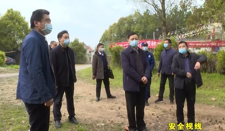 余学武检查指导森林防火和安全生产工作