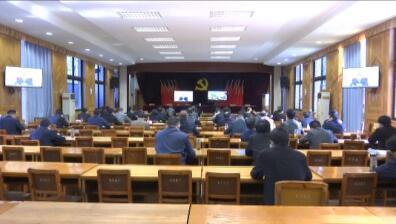红安县组织收听收看全省爱国卫生工作视频会