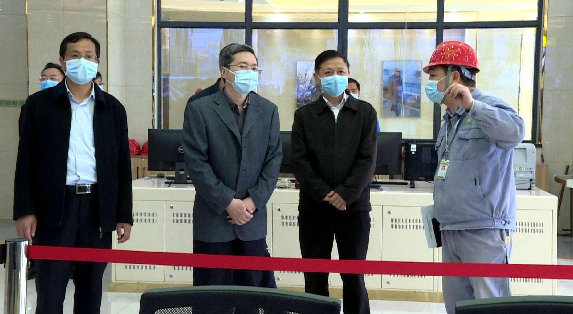 省疫情防控指挥部第十督导组来红安督导企业(项目)复工复产工作